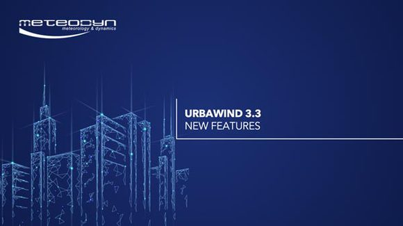 2 UrbaWind 3.3 new features